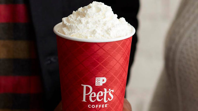 Peet's Coffee 2017 Holiday Menu