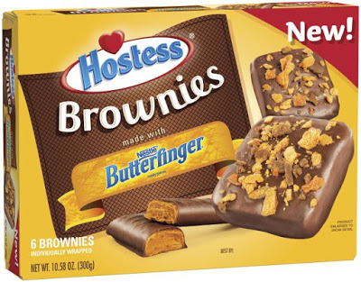 Hostess Launches New Butterfinger Brownies