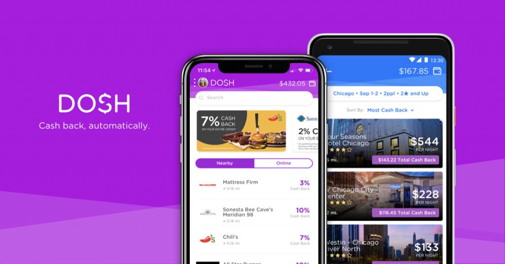 Dosh App header