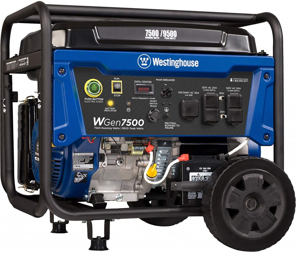 Westinghouse WH7500 Gas Generator Review